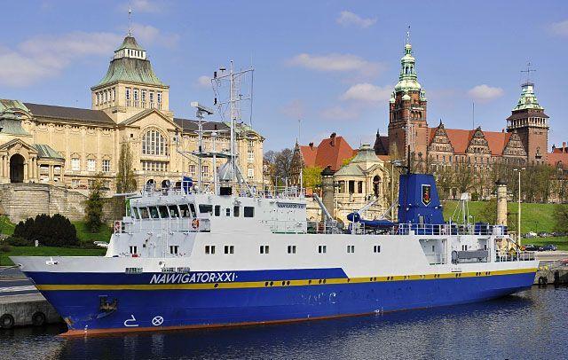 Польская Морская Академия в Щецине