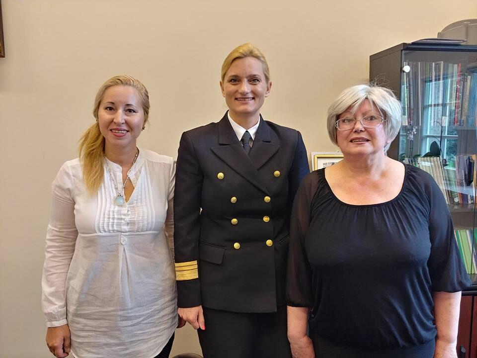 Деловая встреча с проректором Морской Академии Щецина