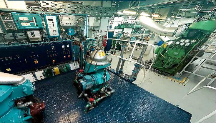 Щецинская Морская Академия - тренажеры