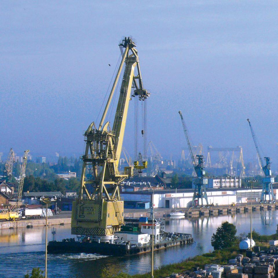 Порт Щецин - практика